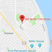 Map thumbnail of Keokuk clinic