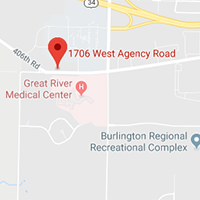 Map thumbnail of West Burlington Clinic