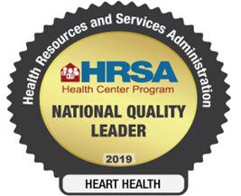 HRSA Nattional Quality Leader
