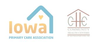 Iowa Primary Care and Community Health Centers logos